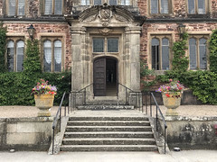 Main entrance, Mt Edgcumbe House, Cornwall (Baz Richardson (away until early October)) Tags: cornwall mountedgcumbehouse tudorarchitecture oldbuildings