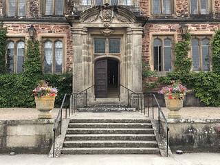 Main entrance, Mt Edgcumbe House, Cornwall