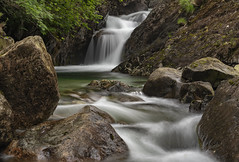 Ritsons Force (Peter Henry Photography) Tags: river water waterfall wasdale lakedistrict cumbria ritsonsforce nikon tamron70200mm longexposure
