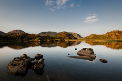 Sunrise over Haystacks (in explore) (pedalpusher139) Tags: haystacks lakedistrict cumbria tarn fellwalking adventure hiking camping lake sunrise landscapephotography