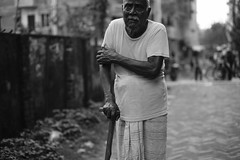 How the world changes (A. adnan) Tags: grandfather grandpa granddad bangladesh chittagong strength weak weakness old aged age realpeople family personal bw monochrome documentary