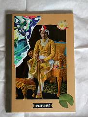 carnet de voyage 1 (anitaa §°°°§) Tags: anitaa anitaacollages voyage travel carnet collage collageart trip india notebook