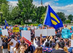 2018.06.26 Muslim Ban Decision Day, Supreme Court, Washington, DC USA 04039