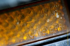 TRAPPER REFLECTOR (Anne-Miek Bibbe) Tags: macromondays bike transport happymacromonday hmm canoneos700d canoneosrebelt5idslr annemiekbibbe bibbe nederland 2018 fiets onderdelen parts macro
