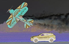 PITTS & JAGUAR (toowoomba surfer) Tags: biplane aviation aircraft