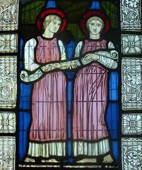 [63253] Springthorpe : Angels Window (Budby) Tags: springthorpe lincolnshire church window stainedglass westlindseychurchesfestival