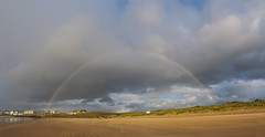 Rainy Days And ... (Olivier Riché) Tags: flickrfriday rainydaysand beach portstewart ireland