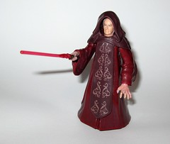 emperor palpatine with glowing force lightning - changes to darth sidious star wars revenge of the sith deluxe figures 2005 hasbro e (tjparkside) Tags: emperor palpatine with glowing force lightning changes darth sidious star wars revenge sith rots episode 3 iii three deluxe action figure figures lightsaber robe hasbro 2005 supreme chancellor republic evil