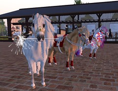 Independence Day Ponies! (honeyheart1) Tags: horse pony shetland realhorse eliteequestrian sl secondlife independenceday 4th july