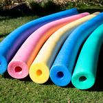 Colorful pool noodles thumbnail