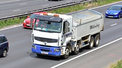 RX10 FJC (Martin's Online Photography) Tags: renault premium tipper truck wagon lorry vehicle freight haulage commercial transport m62 j12 eccles greatermanchester nikon nikond7200