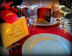 Madeira, Portugal. Restaurant Do Forte (dimaruss34) Tags: newyork brooklyn dmitriyfomenko portugal madeira restaurant restaurantdoforte table plate card flower glass