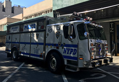 NYPD (New York City Police Department) Emergency Service Unit Truck 2 (NY's Finest Photography) Tags: highway patrol state nypd fdny ems police law enforcement ford dodge swat esu srg crc ctb rescue truck nyc new york mack tbta chevy impala ppv tahoe mounted unit