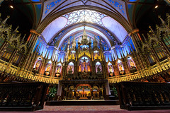 Notre Dame Basilica Interior (Jemlnlx) Tags: canon eos 5d mark 4 5d4 5div montreal quebec canada cda notre dame basilica cathedral catholic church