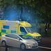 London ambulance on a shout