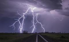 Close (gerrypocha) Tags: lightning storms prairie sky night saskatchewan