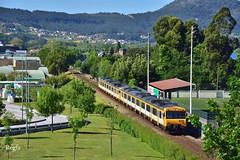 Vila Nova Da Cerveira (REGFA251013) Tags: celta portugal galicia tren train comboio 592200 internacional