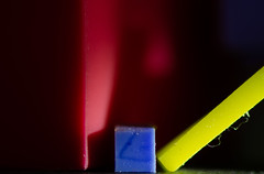 Primary Stabilo (treehuggerdcg) Tags: macromondays erasers primarycolours colours red yellow blue macro shadow