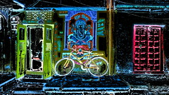 India - Rajasthan - Jaisalmer - Streetlife & Ganesha - 85dd (asienman) Tags: india rajasthan jaisalmer streetlife asienmanphotography asienmanphotoart ganesha