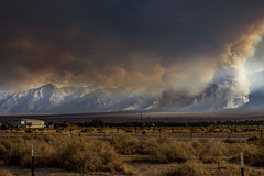 Forest Fire (tjbarber101) Tags: fire forest forestfire smoke mountain mountains 395 california