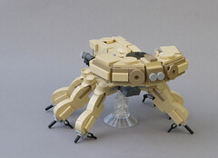 R-3000 hexapod tank rear (Tino Poutiainen) Tags: lego legomoc legobuild microscale moc machine midiscale mecha miniscale robot anime action photograph ghost shell battle combat tfol scifi film movie