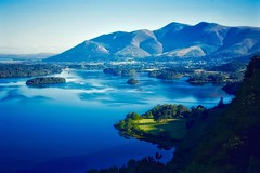 Skiddaw (Nige H (Thanks for 20m views)) Tags: nature landscape moutains skiddaw lakedistrict surpriseview keswick cumbria england lake water derwentwater