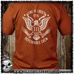 Three Percent Eagle. Deplorable Crew. T-Shirt (Sons of Liberty Tees) Tags: 2ndamendment americanpride apparel ar15 clothing colddeadhands conservative defendthesecond deplorable donttreadonme gunrights guns happy instagood instastyle menfashion mensfashion mensstyle menstyle menswear molonlabe patriot patriotic patriots pewpew righttobeararms sonsoflibertytees style tshirts