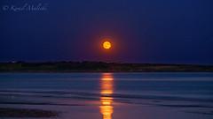 "Tramore beach ("" Kamil Malecki Photography "") Tags: tramore moon moonlight romantic księżyc plaża beach holidays love me beautiful world"