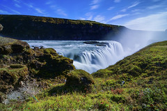 Feel the force (_Amritash_) Tags: waterfall river staircasewaterfall longexposure landscape iceland icelandiclandscapes gullfoss hvítá 64°19′34″n20°07′16″w