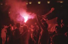 (Hugo Bernatas) Tags: kodak portra 400 yashica t4 analog film 35mm worldcup france night light