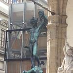 Loggia dei Lanzi - Piazza della Signoria, Florence - Benvenuto Cellini's Perseus with the Head of Medusa thumbnail