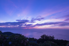 P7214632 (kunmorita) Tags: star 星 海 空 夜空 夜間撮影 sea sky night 夕焼け マジックアワー magic hour 黄昏