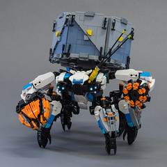 "Shell-Walker (from ""Horizon Zero Dawn"") (Velocites) Tags: shellwalker horizon zero dawn sony playstation moc afol lego guerrilla"