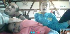 duplex avec Henrichmich (redjoshuameg) Tags: selfportrait 20170908 with jan camille maëlys webcam