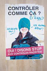 """Place Pépinet dans le prolongement de """"Payot"""" (Riponne-Lausanne) Tags: pepinet affichagesauvage affiche autocollants gaucheextreme placard place wildpostering"""