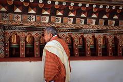 轉經輪 (* Cynthia Chang *) Tags: 不丹 bhutan asia people mask happiness travel