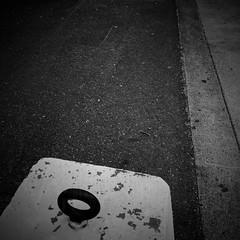 Negative Space: #22 (DrCuervo) Tags: 30days urbanphotography streetphotography seattlecenter simplybwapp monochrome blackandwhite iphone negativespace 22