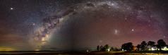 Milky Way Galaxy Pano (myshutterworld) Tags: lake coolmunda darling downs queensland australia astrophotography nightscape panoramic longexposure magellanic cloud