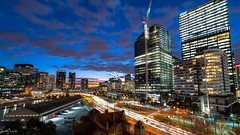 Melbourne Trails. (nathanmeade_) Tags: melbourneilovemelbournecitynightcartrails melbournecartrails