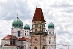 Past and present in Passau (kimbenson45) Tags: germany passau