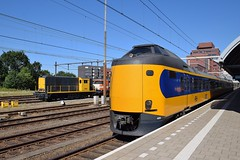 NS 2454, 4059 Amersfoort (eddespan (Edwin)) Tags: plan z icmm trein train railway bahnhof bahn station amersfoort intercity ic gare emu