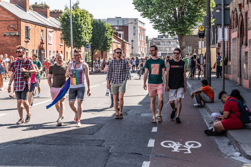 ABOUT SIXTY THOUSAND TOOK PART IN THE DUBLIN LGBTI+ PARADE TODAY[ SATURDAY 30 JUNE 2018]-141778