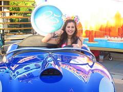 Disneyland Paris June 2018 (Elysia in Wonderland) Tags: disneyland paris 2018 june birthday trip holiday vacation disney theme park meryn elysia lucy pete france blue autopia 25th car