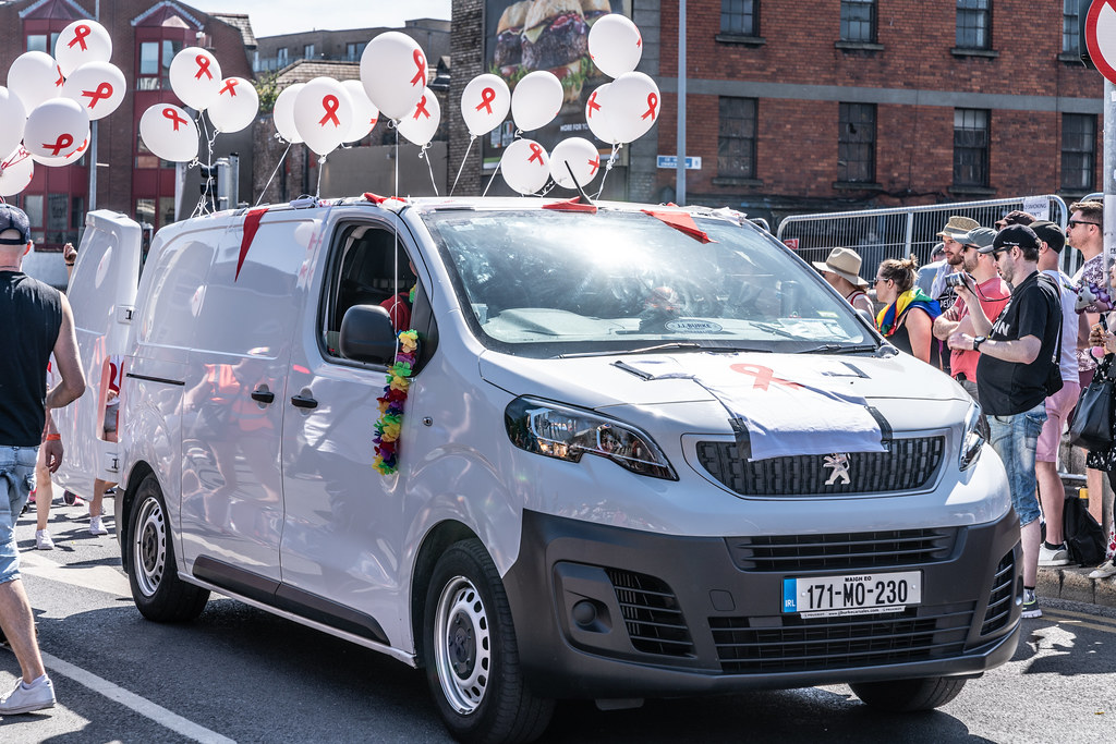 ABOUT SIXTY THOUSAND TOOK PART IN THE DUBLIN LGBTI+ PARADE TODAY[ SATURDAY 30 JUNE 2018] X-100030