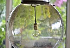 iGuzzini Ball Lamp , 80's style, Italy (Jojorei) Tags: design smoke rauch optik optic lamp hanging lampe gold kugel ball licht gross big retro achtziger iguzzini guzzini italy italien stil style kunst art fashion mode interior inneneinrichtung