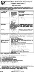 MNS University of Engineering & Technology Multan Jobs 2018 for Teaching & Non-Teaching Staff (pkjobvacancydotcom) Tags: mns university engineering amp technology multan jobs 2018 for teaching nonteaching staff