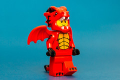 Dragon Suit Guy (cuurchk) Tags: lego legominifigure collectibleminifigures legocollectibleminifigures series18 legocms dragonsuitguy dragonsuitguyminifigure dragonsuitguyminifig dragon party minifigure minifigures minifigs build create legophotography toyphotography minifigurephotography legoportrait
