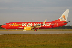 "TUIfly Boeing 737-800 D-ATUH ""Cewe-c/s"" (gooneybird29) Tags: flugzeug flughafen aircraft airport airplane airline muc boeing 737 tuifly datuh cewe"