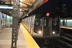 IMG_9577 (GojiMet86) Tags: mta bmt nyc new york city subway train 2008 r160a2 8673 36th avenue