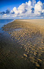 Low Tide (dianne_stankiewicz) Tags: coastal scene nature beach ocean water waves clouds lowtide tide morning sand sea summer day